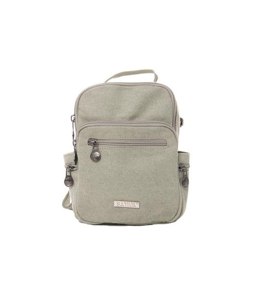 COMPACT TRIO BACKPACK - HEMP & ORGANIC COTTON  Sativa
