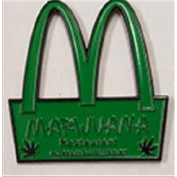 Big M Hat Pin  -