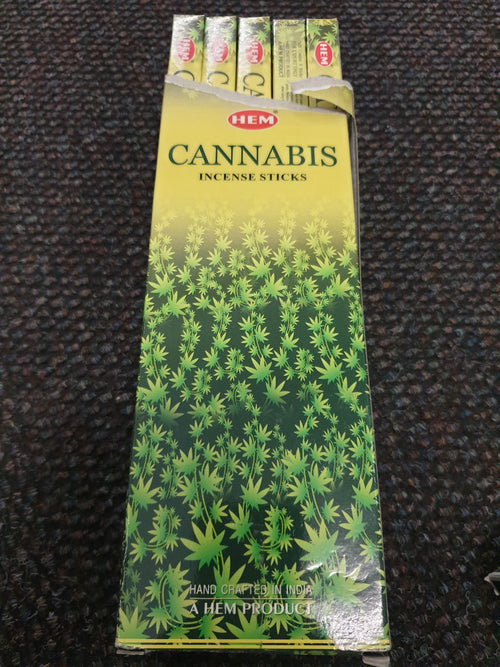 Cannabis Incense 8 stick box