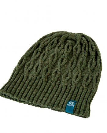 Hemp Line Up Beanie - Green