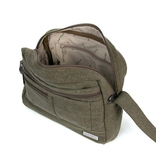 PORTAGE - HEMP & ORGANIC COTTON SHOULDER BAG