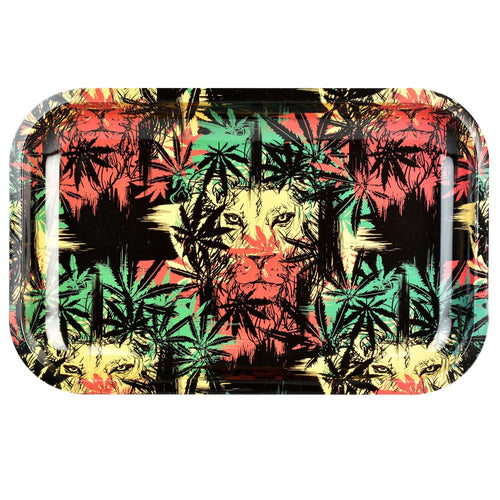 Pulsar Metal Rolling Tray | Zion Lion