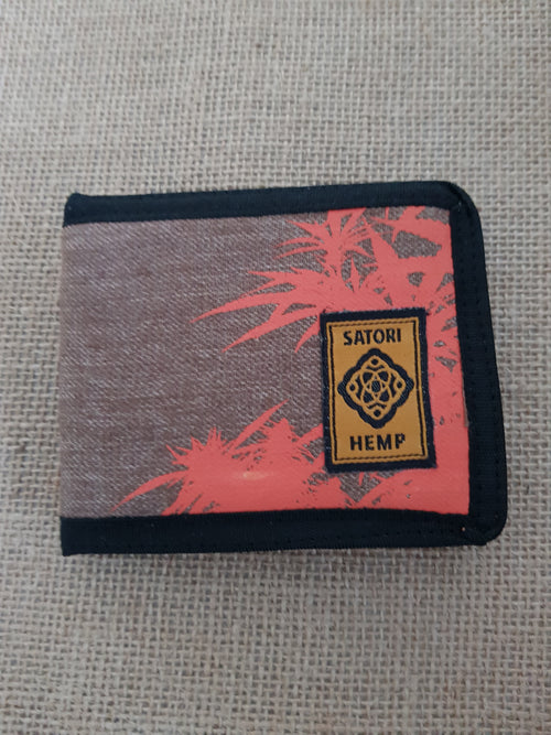 Satori Canna Bi-Fold Wallet Canvas