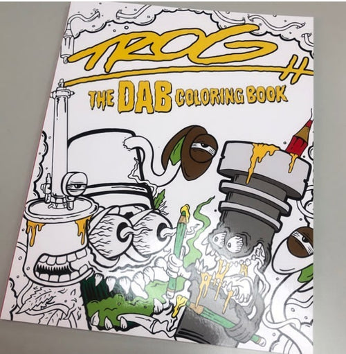 The Dab Colouring Book By Trog
