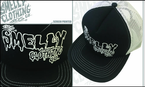 SMELLY GOO LOGO – TRUCKER CAP
