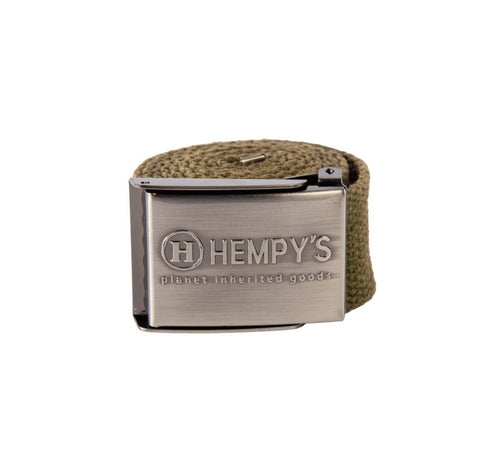 Hemp Scout Belt 1.5″ Green