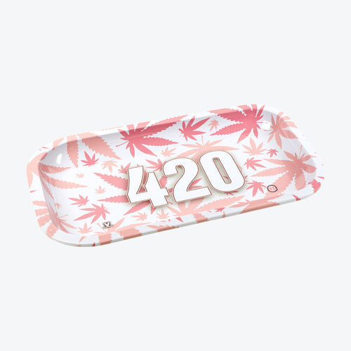 V-SYNDICATE 420 PINK ROLLING TRAY