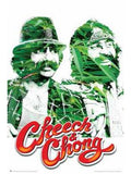 Cheech N Chong Maxi Blockmounted Poster