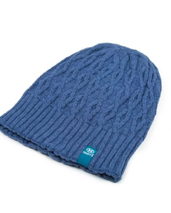Hemp Line Up Beanie - Blue