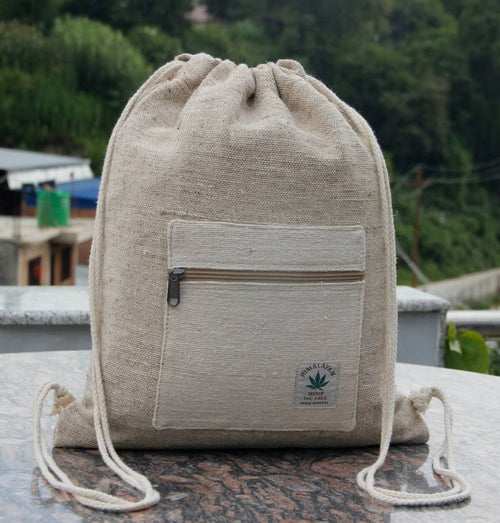 Hemp Draw String Bag