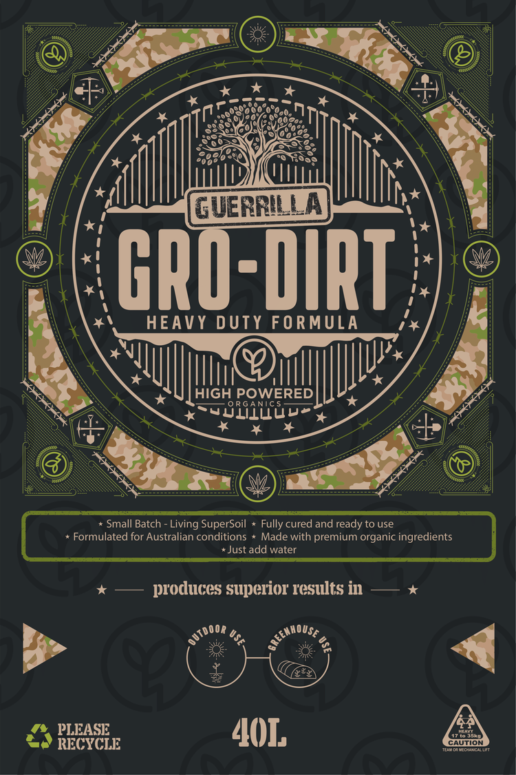 GUERRILLA GRO-DIRT heavy duty formula