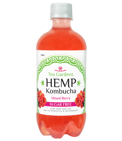 Hemp Kombucha Mixxed Berry 500ml