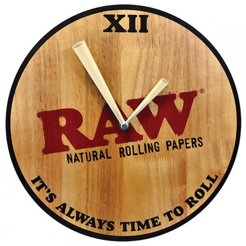 RAW Wall Clock - Wood