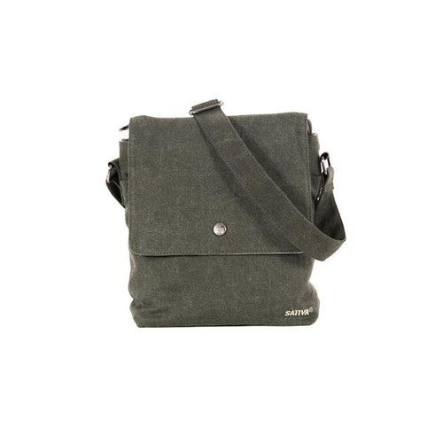"MARAIS"" HEMP & ORGANIC COTTON SHOULDER BAG - BY SATIVA"