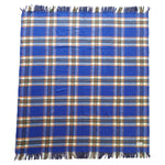 Aranda Italiano Blanket - Blue Brown