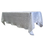 House of Hamilton Table Cloth - White