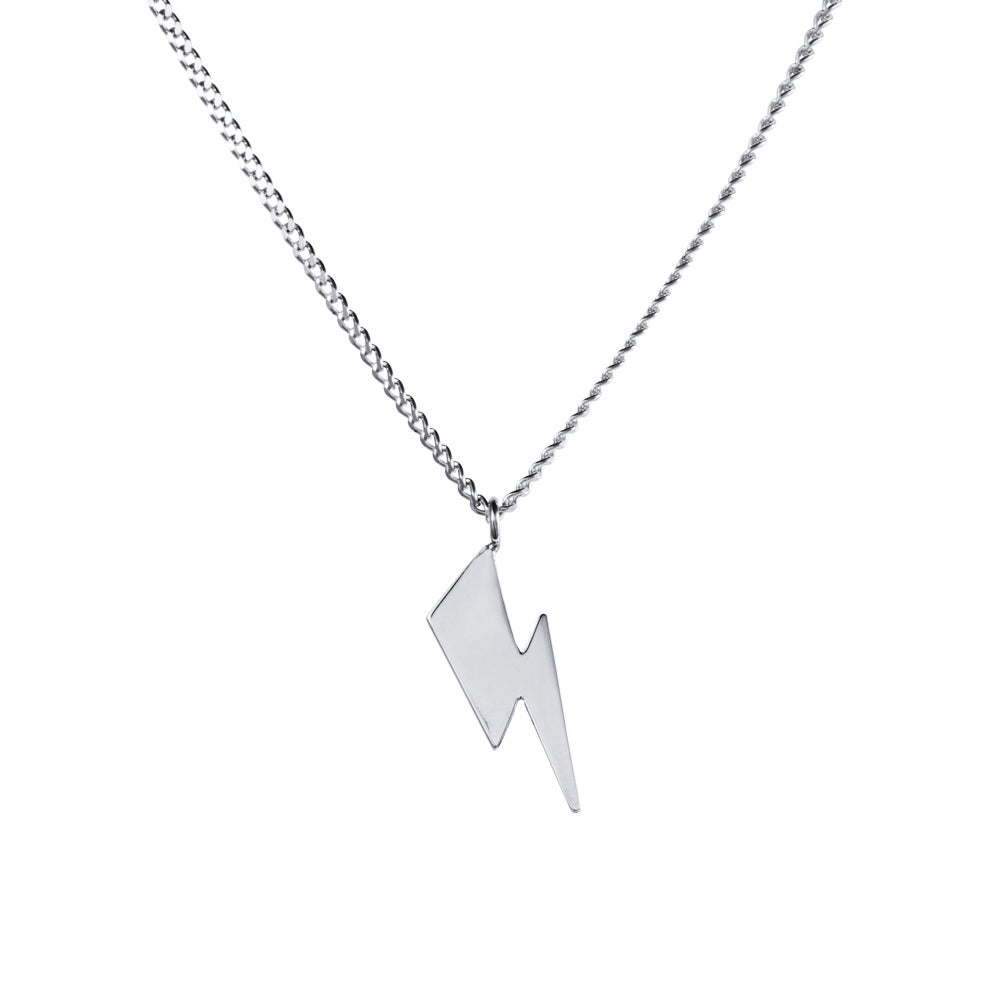 Bowie Flash Curb Chain Necklace