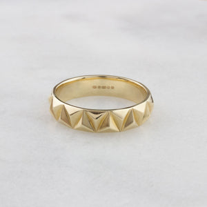 Louise wade his rocka ring gold marble