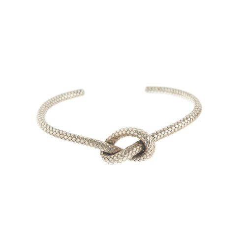 love knot bangle in sterling silver by Louise Wade