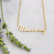 Mummy Necklace in gold, Louise Wade London