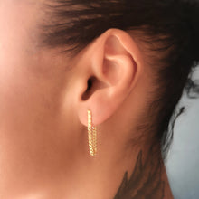 Rocka Line Chainback Earrings