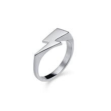 Load image into Gallery viewer, Bowie Flash Mondo Signet Ring