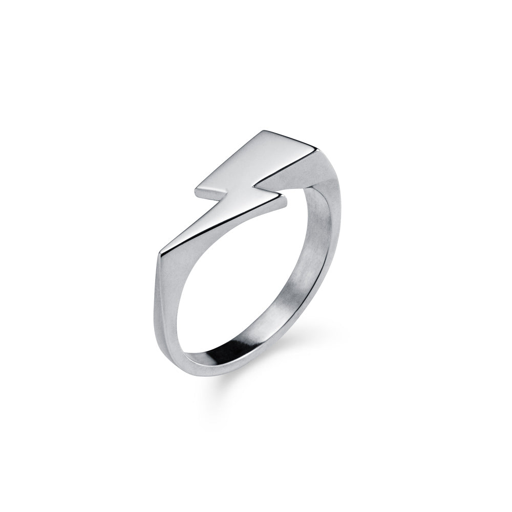 Bowie Flash Mondo Signet Ring