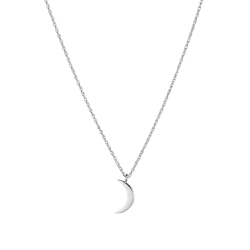 Crescent Mini Moon Necklace