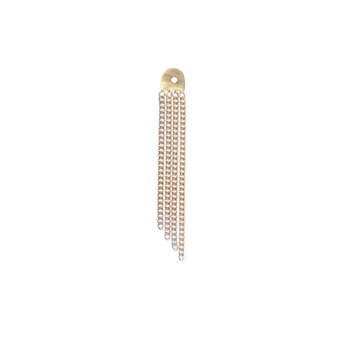 Detachable Chain Back Earring Medium
