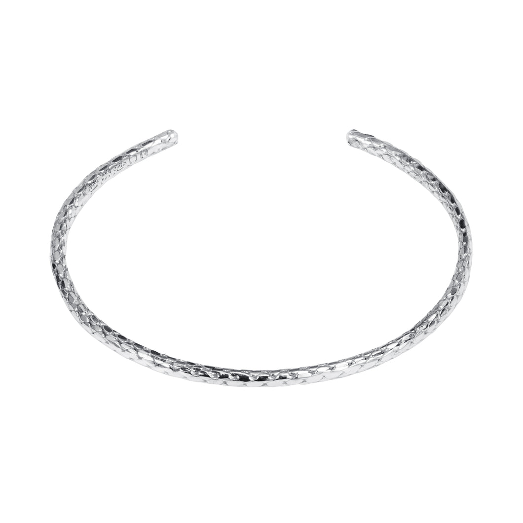 Hammered Rope Bangle