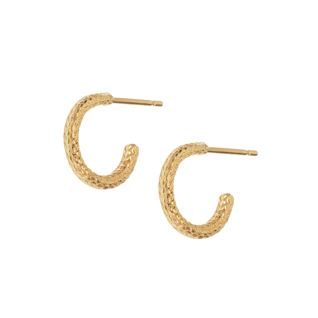 Yachting Rope Hoop Earrings