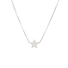 Louise wade star necklace sterling silver detail