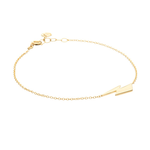 Louise Wade David Bowie Flash bracelet in gold vermeil
