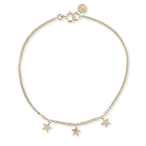 Three Little Stars Bracelet