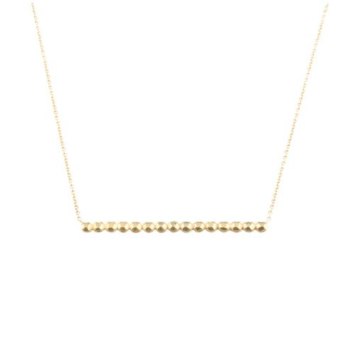 Vincent necklace in gold vermeil by Louise wade London
