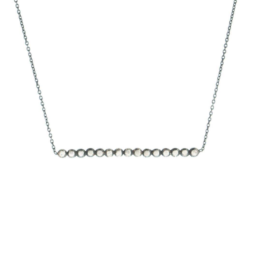 Vincent necklace in sterling silver by Louise wade London
