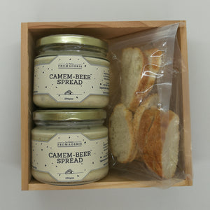 2 Camem-beer Gift Box with Crostini