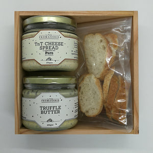 Truffle Butter and TnT Cheese Spread in a Gift Box