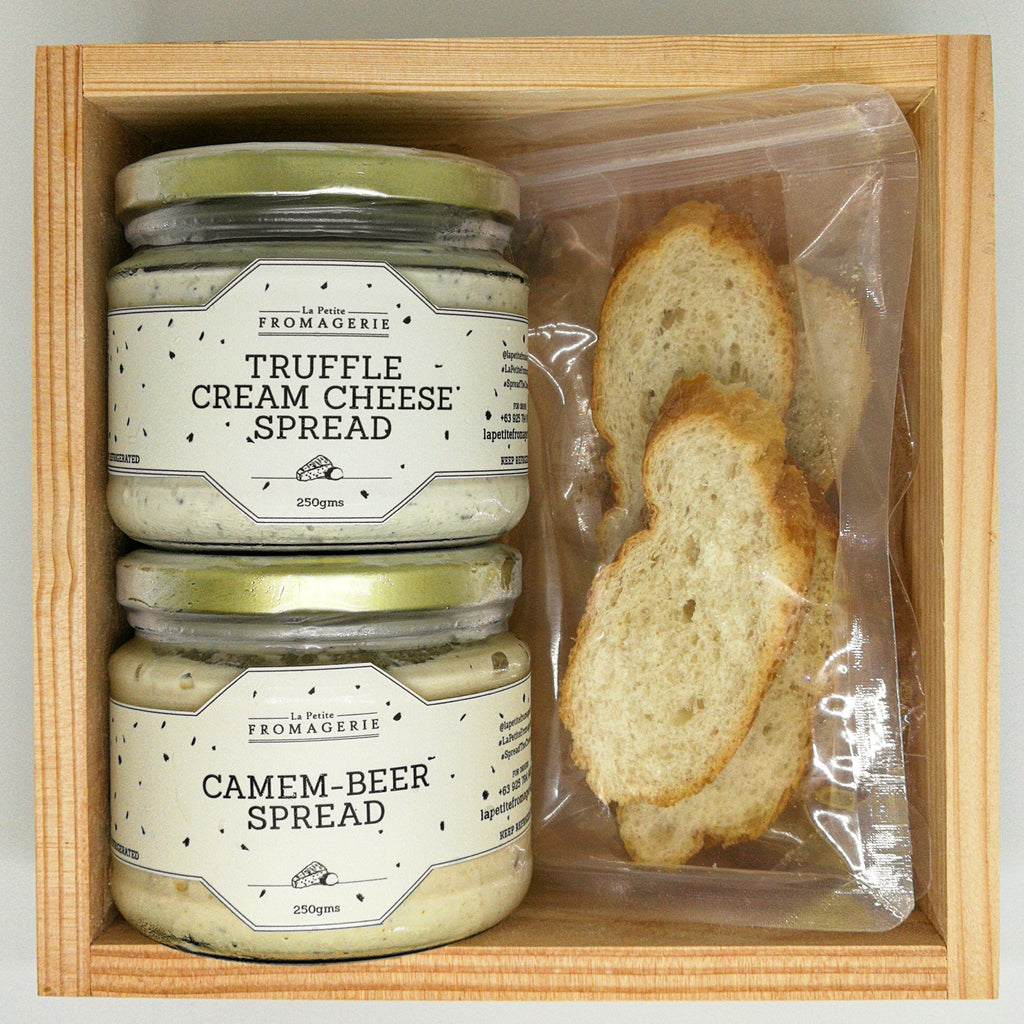 Truffle Cream Cheese Spread and Camem-beer Gift Box