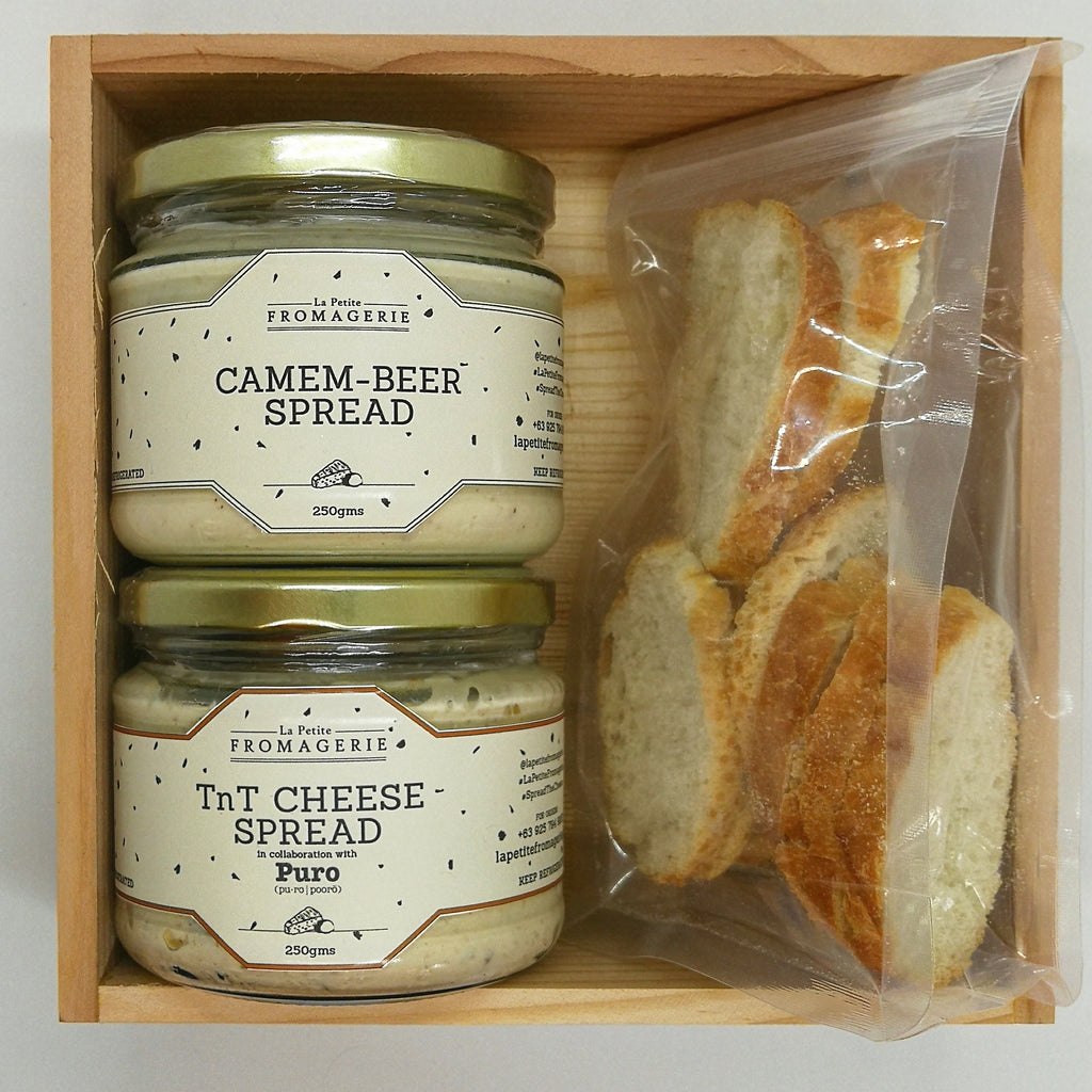 Tnt Cheese Spread and Camem-beer Gift Box