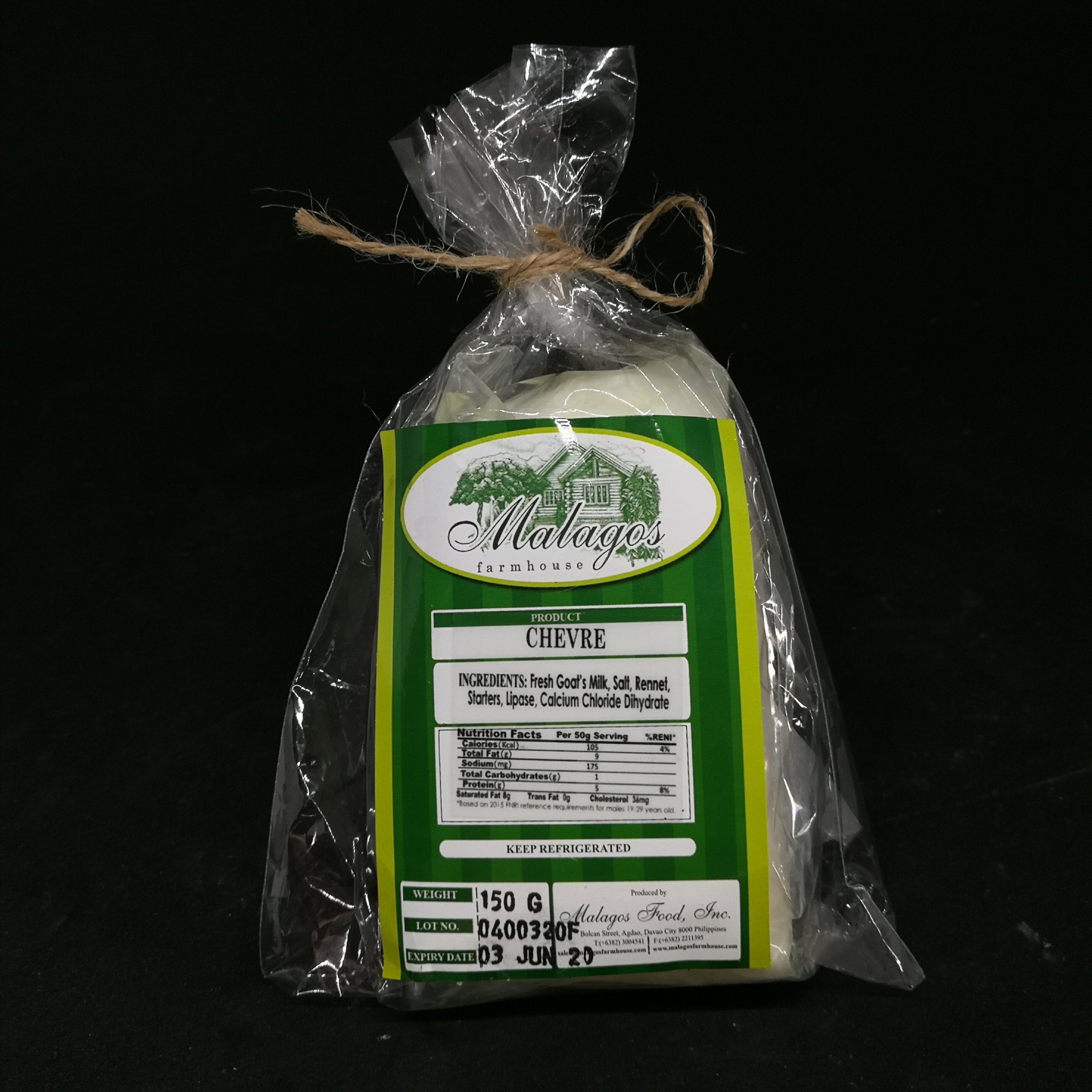 French-style Chevre by Malagos Farms