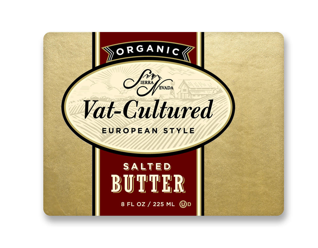 Sierra Nevada Organic Salted Butter