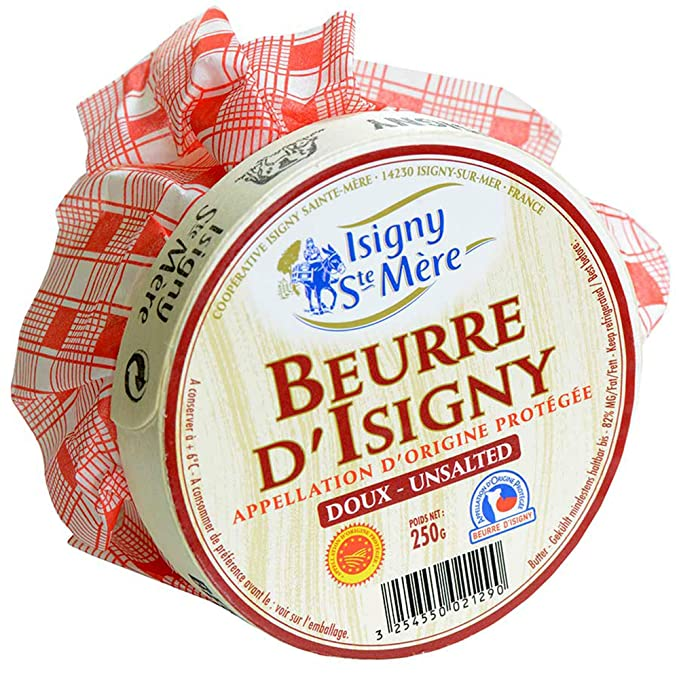 Beurre D' Isigny (Unsalted Butter)