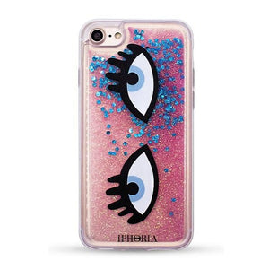 IPHORIA(アイフォリア) iPhone8/7 ケース  Liquid Case I CAN SEE YOU(リキッド コレクション)