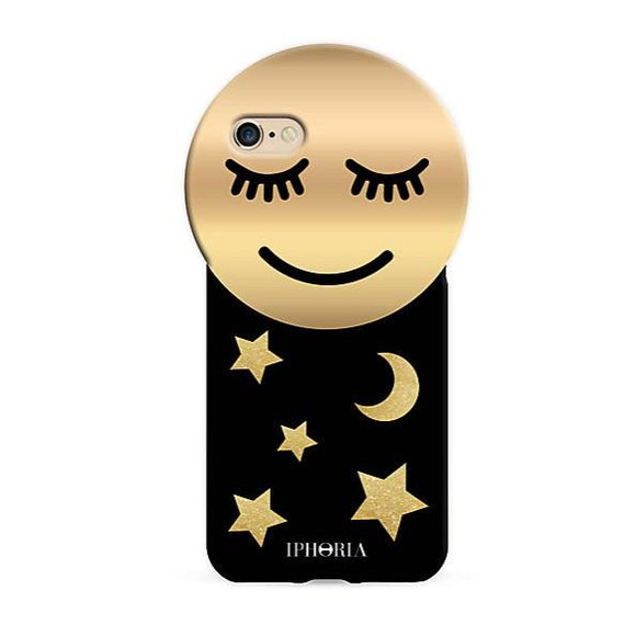 IPHORIA(アイフォリア) iPhone8/7 ケース Round Case GOLDEN SMILEY