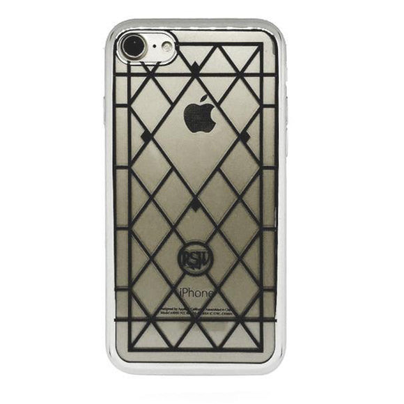 RockSteady Stained glass Diamond iPhone8/7兼用 ハードケース