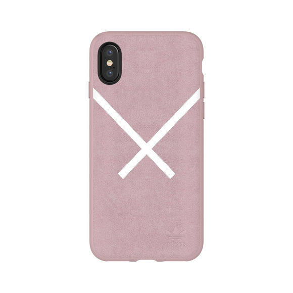 adidas(アディダス) Originals iPhoneX 背面型 ケース OR-XBYO-Moulded Blanch Purple