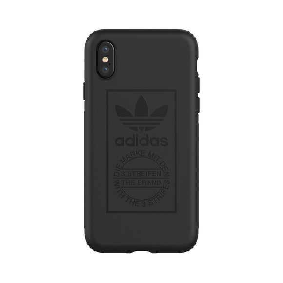 adidas(アディダス) Originals iPhoneX 背面型 ケース OR-TPU Hard black