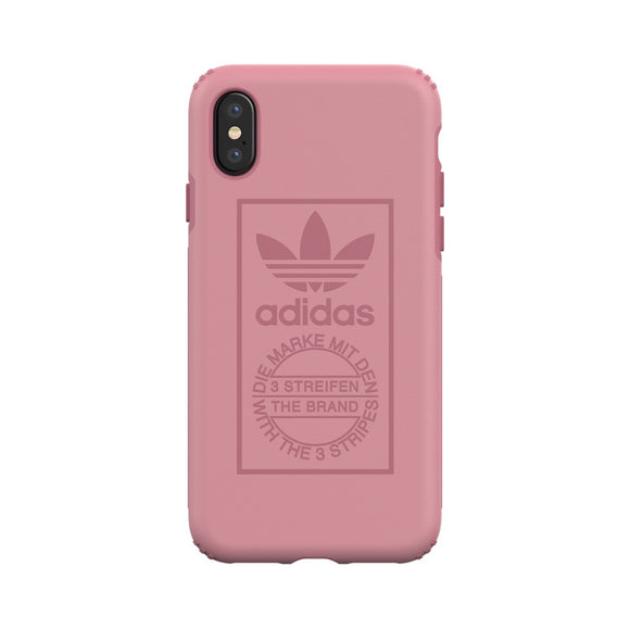 adidas(アディダス) Originals iPhoneX 背面型 ケース OR-TPU Hard Tactile Rose