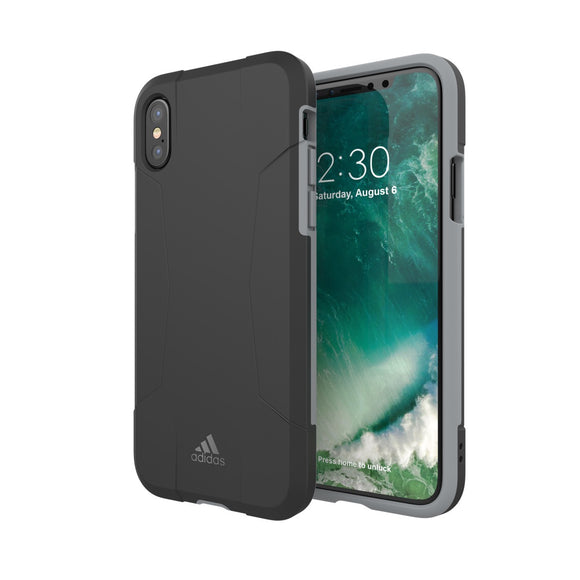 adidas(アディダス) Performance iPhoneX 背面型 ケース SP-Solo Case Black/Grey